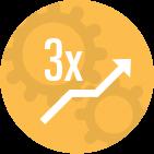 3x icon