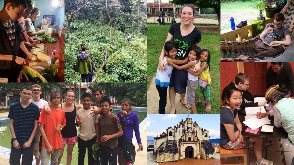 Students visiting Guatemala