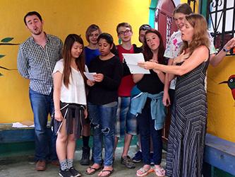 Lead Prep students enjoying a sing-a-long